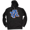 T7L Logo - Hoodie - BLACK - The 7 Line - For Mets fans, by Mets fans. An independently owned clothing/lifestyle brand supporting the Mets players and their fans.