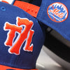 T7L x METS (blue/orange) - New Era Snapback - The 7 Line - For Mets fans, by Mets fans. An independently owned clothing/lifestyle brand supporting the Mets players and their fans.