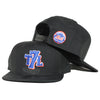 T7L x METS (black) - New Era Snapback - The 7 Line - For Mets fans, by Mets fans. An independently owned clothing/lifestyle brand supporting the Mets players and their fans.