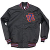 The 7 Line T7L satin jacket (black) - The 7 Line - For Mets fans, by Mets fans. An independently owned clothing/lifestyle brand supporting the Mets players and their fans.