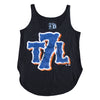 T7L Logo - Ladies Tank - BLACK