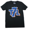 T7L Logo Tee - BLACK - The 7 Line - For Mets fans, by Mets fans. An independently owned clothing/lifestyle brand supporting the Mets players and their fans.