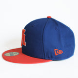 T7L (blue/orange) - New Era Fitted