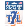 DECAL: T7L logo - The 7 Line - For Mets fans, by Mets fans. An independently owned clothing/lifestyle brand supporting the Mets players and their fans.
