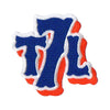 T7L LOGO EMBROIDERED PATCH - The 7 Line - For Mets fans, by Mets fans. An independently owned clothing/lifestyle brand supporting the Mets players and their fans.