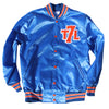 The 7 Line T7L satin jacket (royal) - The 7 Line - For Mets fans, by Mets fans. An independently owned clothing/lifestyle brand supporting the Mets players and their fans.