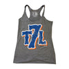 T7L Logo - ladies tank - The 7 Line - For Mets fans, by Mets fans. An independently owned clothing/lifestyle brand supporting the Mets players and their fans.