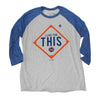THIS (3/4 sleeve) - The 7 Line - For Mets fans, by Mets fans. An independently owned clothing/lifestyle brand supporting the Mets players and their fans.