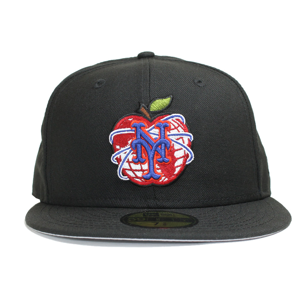 NY APPLE - New Era fitted - The 7 Line - For Mets fans 615dd382d93