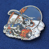 """Flushing Finisher"" pin - The 7 Line - For Mets fans, by Mets fans. An independently owned clothing/lifestyle brand supporting the Mets players and their fans."