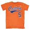 CAPTAIN 5 t-shirt - The 7 Line - For Mets fans, by Mets fans. An independently owned clothing/lifestyle brand supporting the Mets players and their fans.
