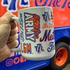 The 7 Line x Mets 15oz COFFEE MUG - The 7 Line - For Mets fans, by Mets fans. An independently owned clothing/lifestyle brand supporting the Mets players and their fans.