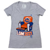 METS COUCH POTATO ladies v-neck