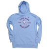 EAST WEST hoodie (light blue)