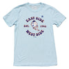 EAST WEST (light blue) t-shirt - The 7 Line - For Mets fans, by Mets fans. An independently owned clothing/lifestyle brand supporting the Mets players and their fans.