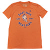 EAST WEST (orange) t-shirt - The 7 Line - For Mets fans, by Mets fans. An independently owned clothing/lifestyle brand supporting the Mets players and their fans.