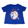 KIDS: Emoji Mr. Met T-SHIRT (royal) - The 7 Line - For Mets fans, by Mets fans. An independently owned clothing/lifestyle brand supporting the Mets players and their fans.