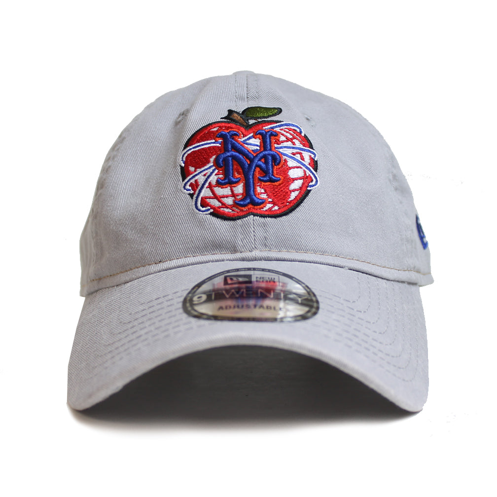NY Apple - New Era adjustable (Grey) - The 7 Line - For Mets 69a383c4bd9e
