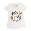 Homeboy (ladies v-neck) - The 7 Line - For Mets fans, by Mets fans. An independently owned clothing/lifestyle brand supporting the Mets players and their fans.