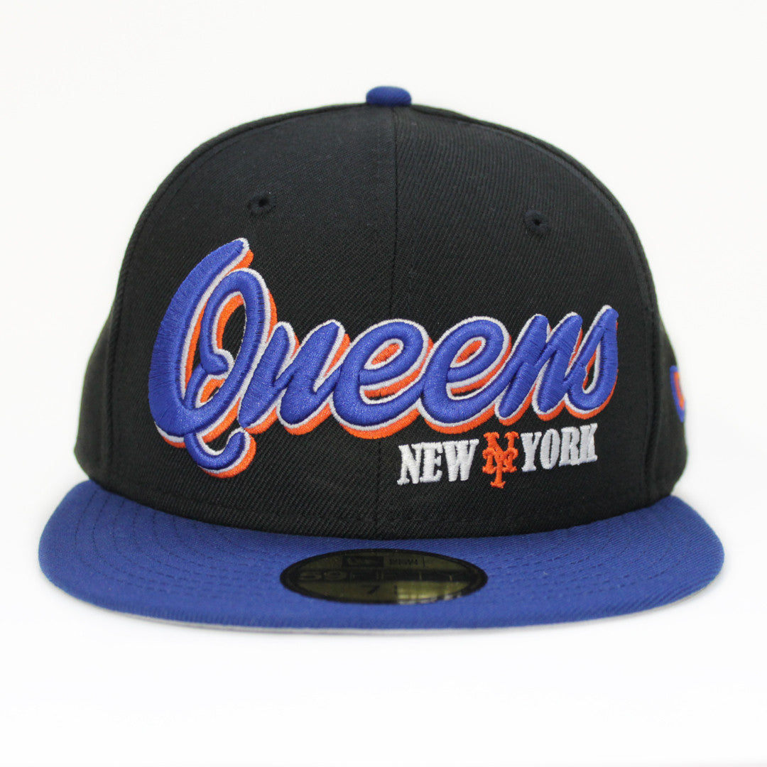 Queens (hybrid) New Era Fitted - The 7 Line - For Mets fans d2709c439c6f