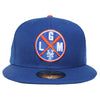 LGM (BLUE) - New Era fitted - The 7 Line - For Mets fans, by Mets fans. An independently owned clothing/lifestyle brand supporting the Mets players and their fans.