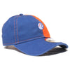"Mr. Met ""Split"" - New Era Adjustable - The 7 Line - For Mets fans, by Mets fans. An independently owned clothing/lifestyle brand supporting the Mets players and their fans."