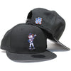 Mrs. Met (black) - New Era Snapback - The 7 Line - For Mets fans, by Mets fans. An independently owned clothing/lifestyle brand supporting the Mets players and their fans.
