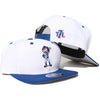 Mrs. Met (white) - New Era Snapback - The 7 Line - For Mets fans, by Mets fans. An independently owned clothing/lifestyle brand supporting the Mets players and their fans.