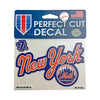 DECAL: NEW YORK METS 1987