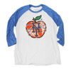 NY APPLE (3/4 sleeve) - The 7 Line - For Mets fans, by Mets fans. An independently owned clothing/lifestyle brand supporting the Mets players and their fans.