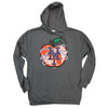 NY APPLE hoodie (graphite) - The 7 Line - For Mets fans, by Mets fans. An independently owned clothing/lifestyle brand supporting the Mets players and their fans.