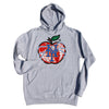 NY APPLE hoodie (heather) - The 7 Line - For Mets fans, by Mets fans. An independently owned clothing/lifestyle brand supporting the Mets players and their fans.