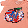NY APPLE ladies v-neck - The 7 Line - For Mets fans, by Mets fans. An independently owned clothing/lifestyle brand supporting the Mets players and their fans.