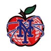 NY APPLE EMBROIDERED PATCH - The 7 Line - For Mets fans, by Mets fans. An independently owned clothing/lifestyle brand supporting the Mets players and their fans.