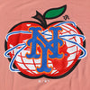 NY APPLE t-shirt (sunset) - The 7 Line - For Mets fans, by Mets fans. An independently owned clothing/lifestyle brand supporting the Mets players and their fans.