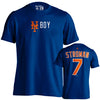 """NY BOY"" Marcus Stroman t-shirt - The 7 Line - For Mets fans, by Mets fans. An independently owned clothing/lifestyle brand supporting the Mets players and their fans."