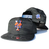 NY Mets Camo (Blackout) - New Era Snapback
