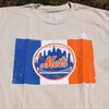 NYC X METS t-shirt (Cream)