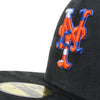 NY Mets Camo (Blackout) - New Era fitted - The 7 Line - For Mets fans, by Mets fans. An independently owned clothing/lifestyle brand supporting the Mets players and their fans.