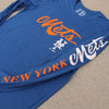 "New York Mets ""Script"" Long Sleeve - The 7 Line - For Mets fans, by Mets fans. An independently owned clothing/lifestyle brand supporting the Mets players and their fans."