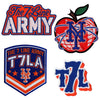 The 7 Line PATCH SET - The 7 Line - For Mets fans, by Mets fans. An independently owned clothing/lifestyle brand supporting the Mets players and their fans.