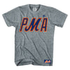 PMA t-shirt (grey) - The 7 Line - For Mets fans, by Mets fans. An independently owned clothing/lifestyle brand supporting the Mets players and their fans.