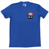 Mets HR Apple Pocket T-shirt - The 7 Line - For Mets fans, by Mets fans. An independently owned clothing/lifestyle brand supporting the Mets players and their fans.