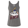 POLAR PETE ladies tank (grey) - The 7 Line - For Mets fans, by Mets fans. An independently owned clothing/lifestyle brand supporting the Mets players and their fans.
