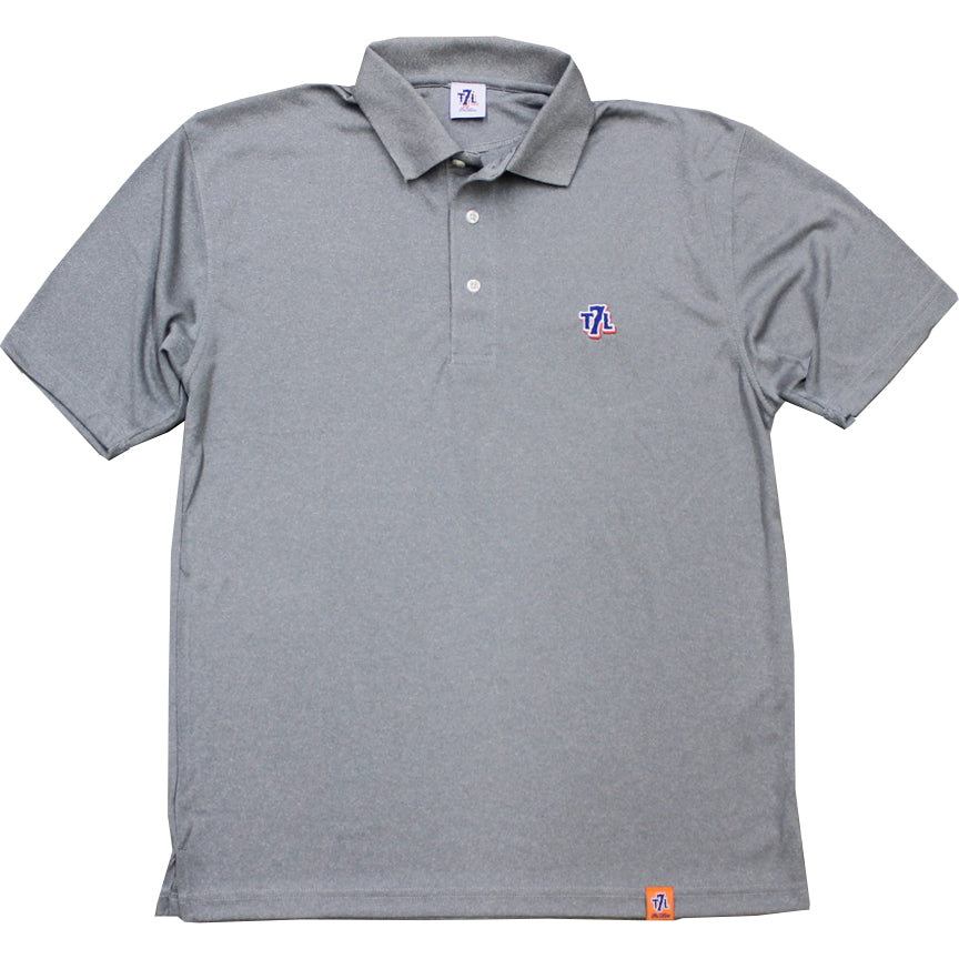 93f526cd2 T7L Polo Shirt (Grey) - The 7 Line - For Mets fans, by