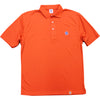 T7L Polo Shirt (Orange) - The 7 Line - For Mets fans, by Mets fans. An independently owned clothing/lifestyle brand supporting the Mets players and their fans.