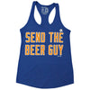 SEND THE BEER GUY ladies tank - The 7 Line - For Mets fans, by Mets fans. An independently owned clothing/lifestyle brand supporting the Mets players and their fans.