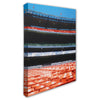 Shea Stadium Seats Canvas Print - The 7 Line - For Mets fans, by Mets fans. An independently owned clothing/lifestyle brand supporting the Mets players and their fans.