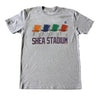 Shea Stadium Seats - The 7 Line - For Mets fans, by Mets fans. An independently owned clothing/lifestyle brand supporting the Mets players and their fans.