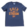 Shea Stadium Throwback t-shirt - The 7 Line - For Mets fans, by Mets fans. An independently owned clothing/lifestyle brand supporting the Mets players and their fans.